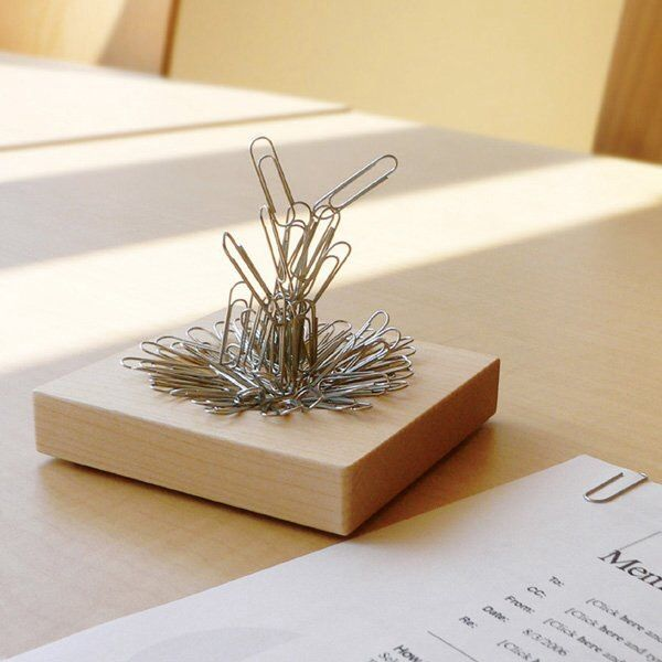 Magnetic Paper Clip Storage Piece (With Images