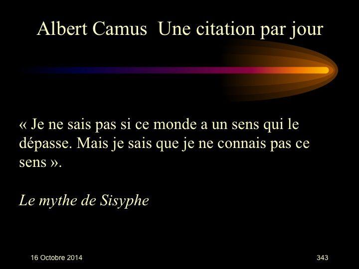 Albert Camus (1913-1960)     n° 343