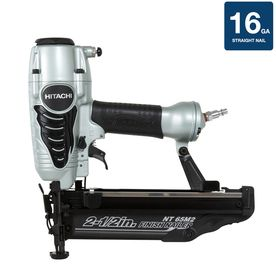 Hitachi 1-Piece 2.5-in x 16-Gauge Roundhead Finishing Pneumatic Nailer