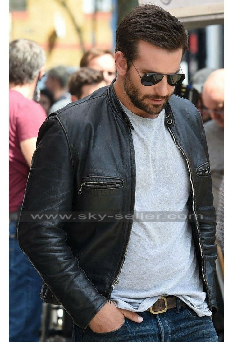 db4b1f916 Burnt Bradley Cooper (Adam Jones) Black Biker Jacket in 2019 ...