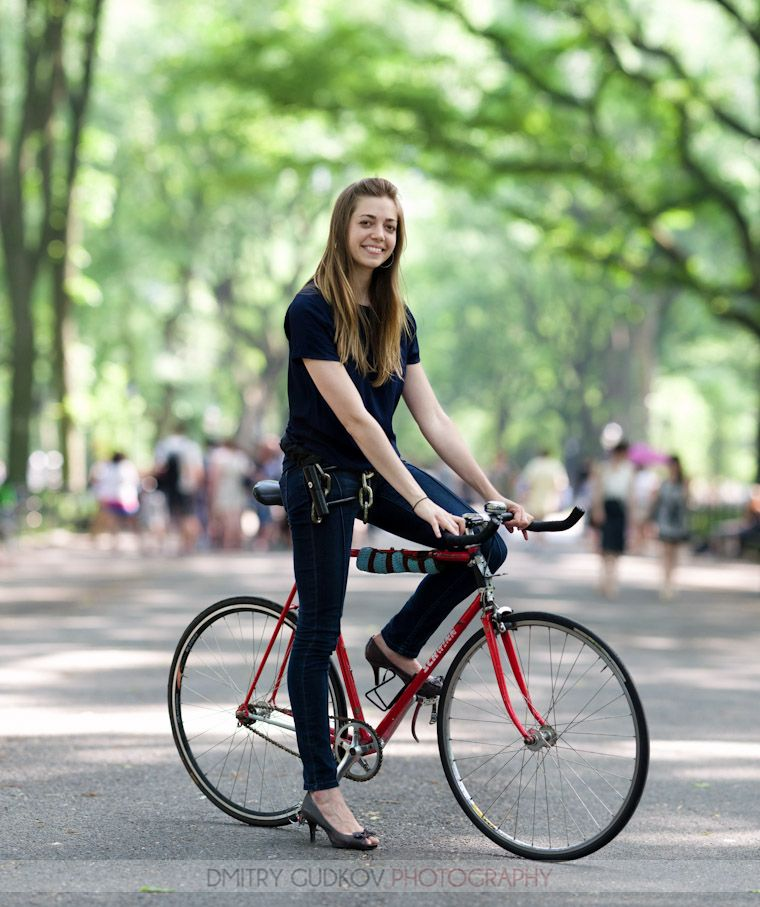An Entire Page Committed To Women Who Bike In Heels When