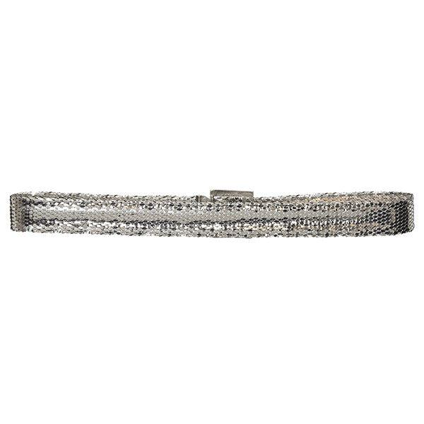 Metallic Skinny Belt Rochas 9UeJEk4I