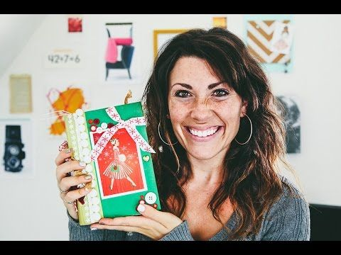 Christmas Junk Journal for Liz - YouTube