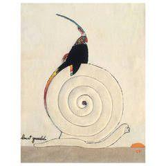 Edward Fields Wool Rug or Tapestry Designed by Burt Groedel
