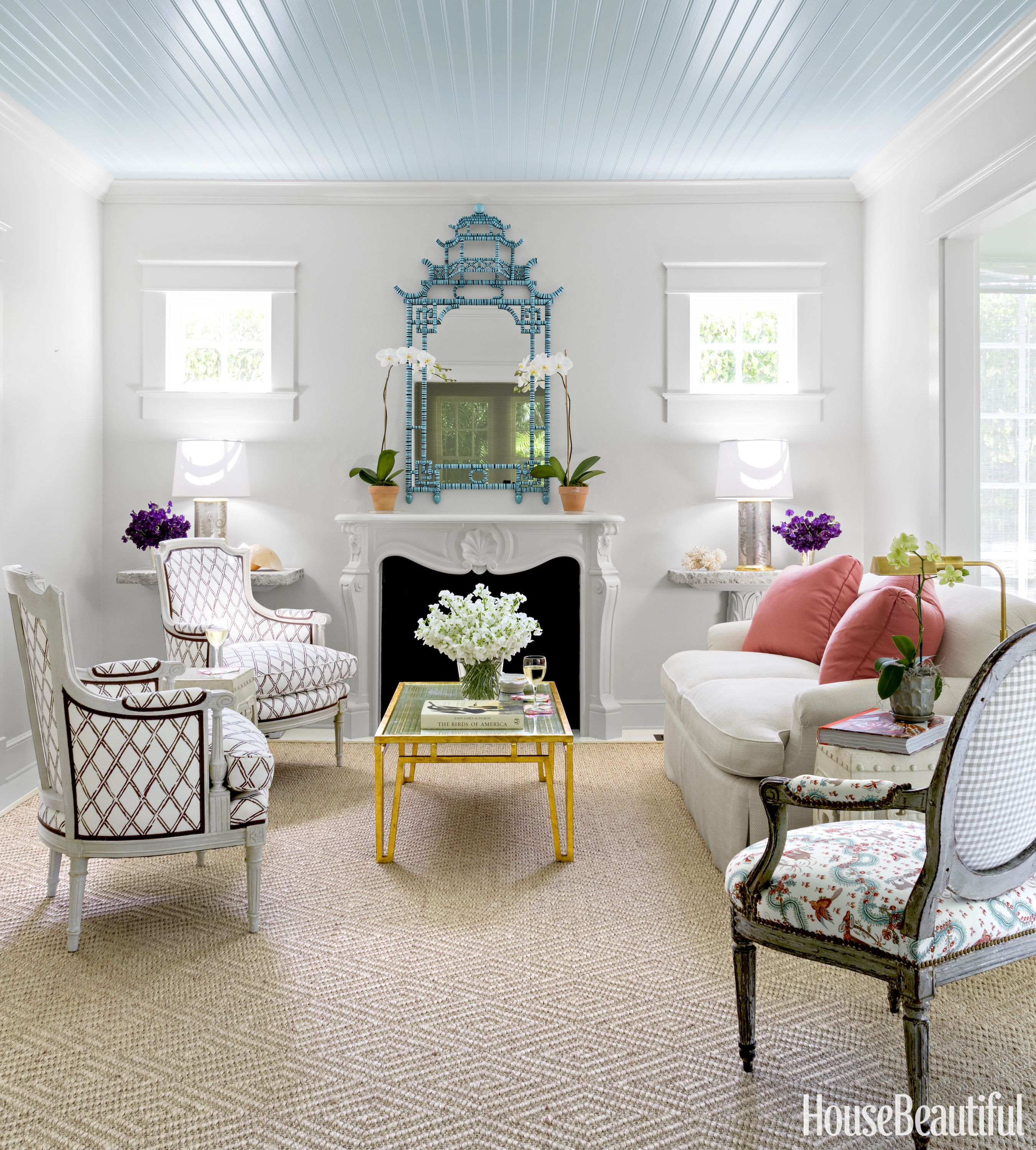 Beautiful Home Living Rooms: Inside A Tiny Florida Cottage Full Of Tropical Colors