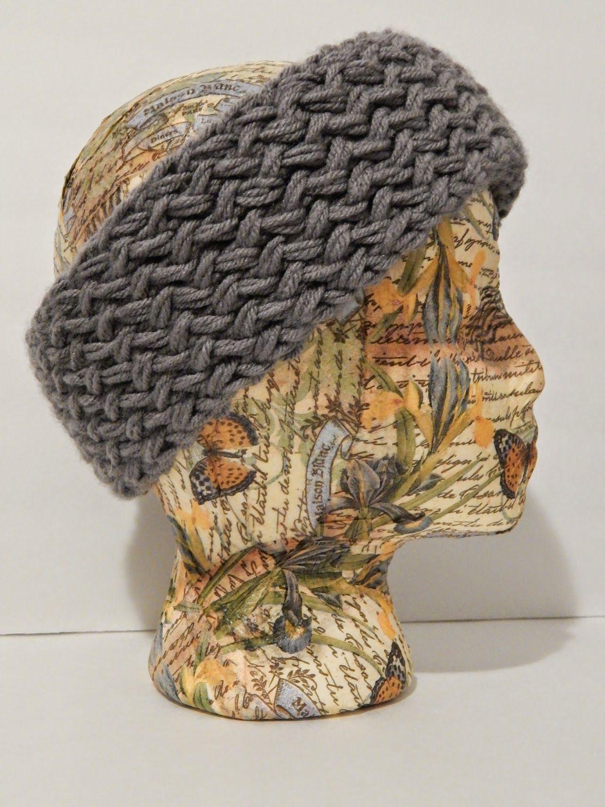Jovial Knits Loom Knit Reversible Super Chunky Headband