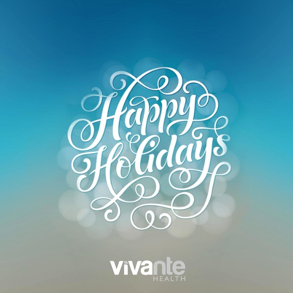 Happy Holidays, From Vivante Health, The Digestive Health