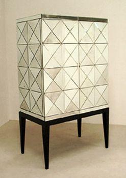 Dresser - mirrored armoire