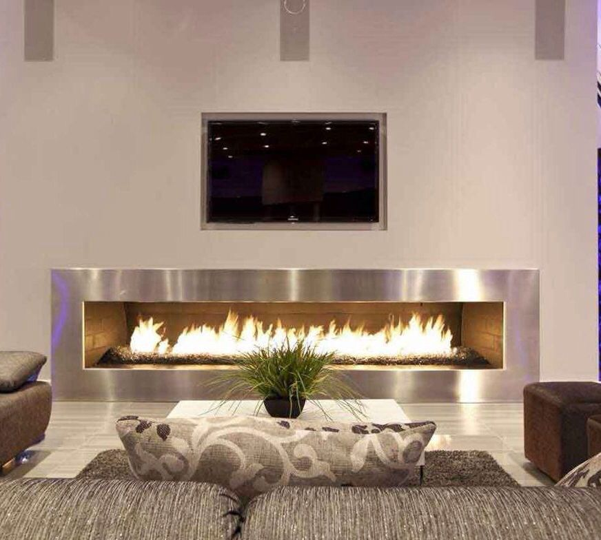 contemporary living room with electric fireplace house to home lighting 17 modern tile ideas best design makeovers designs glass for the