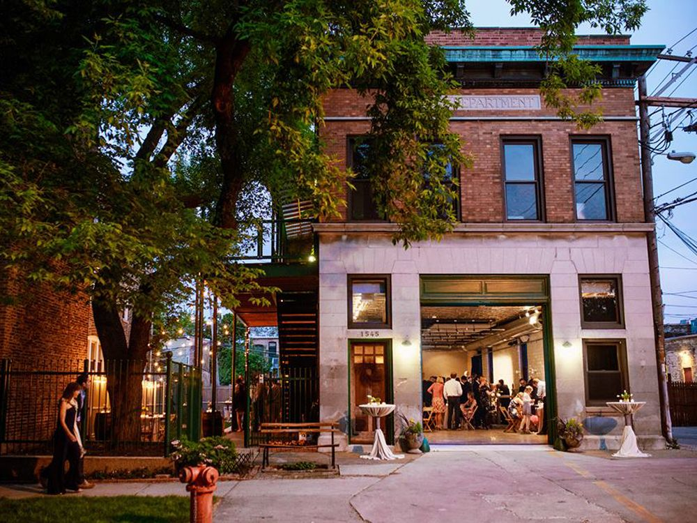 Unique Weddings Venues in Chicago Firehouse Chicago