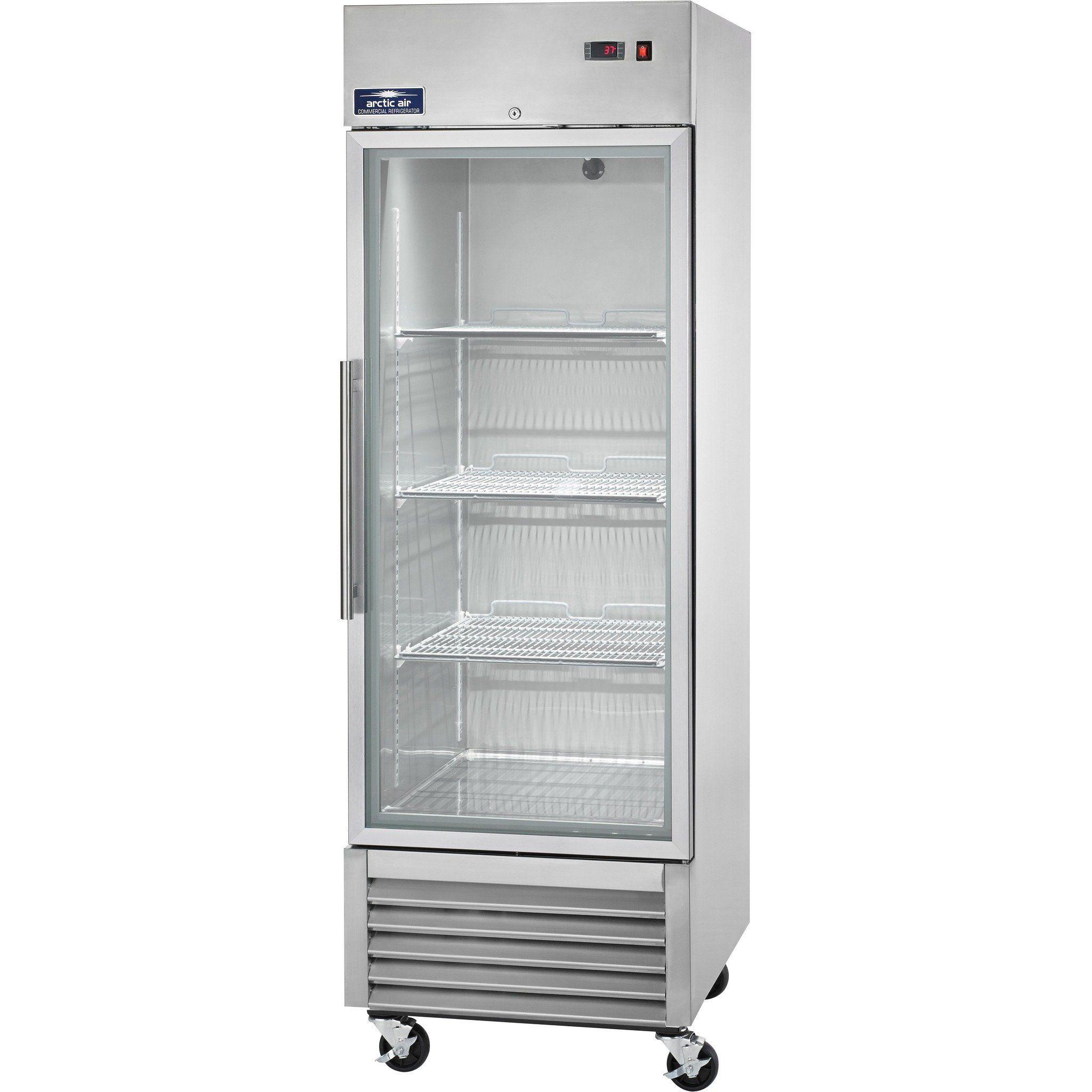 Commercial Kitchen 1 Door Reach-In Refrigerator 27\