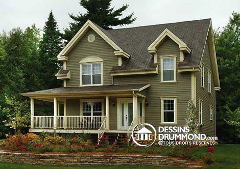 plan num ro 2590 une jolie maison spacieuse aim de tous maison de r ve dream house style. Black Bedroom Furniture Sets. Home Design Ideas