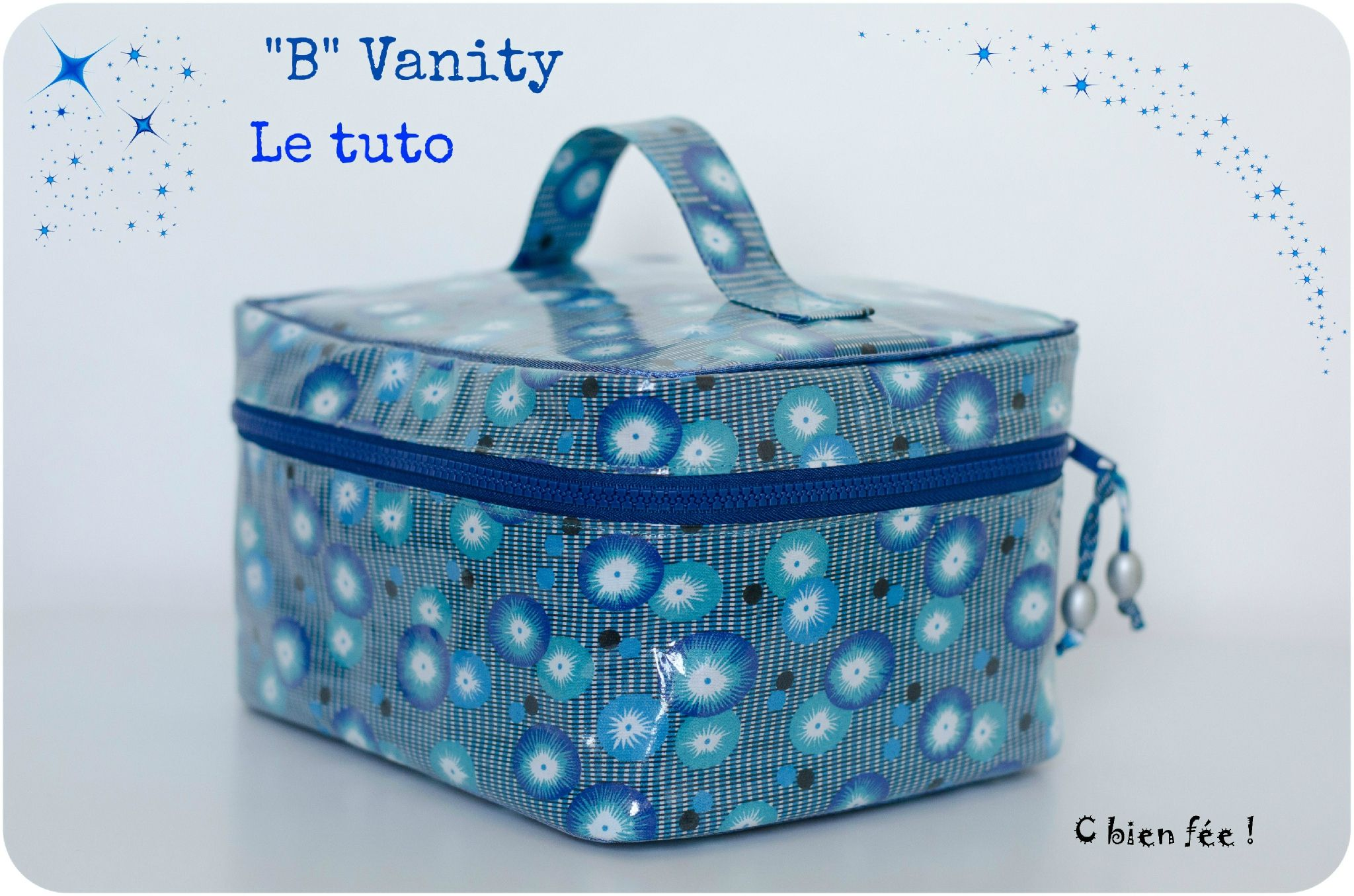 b vanity le tuto c bien f e diy couture trousses pochettes sacs valisette. Black Bedroom Furniture Sets. Home Design Ideas