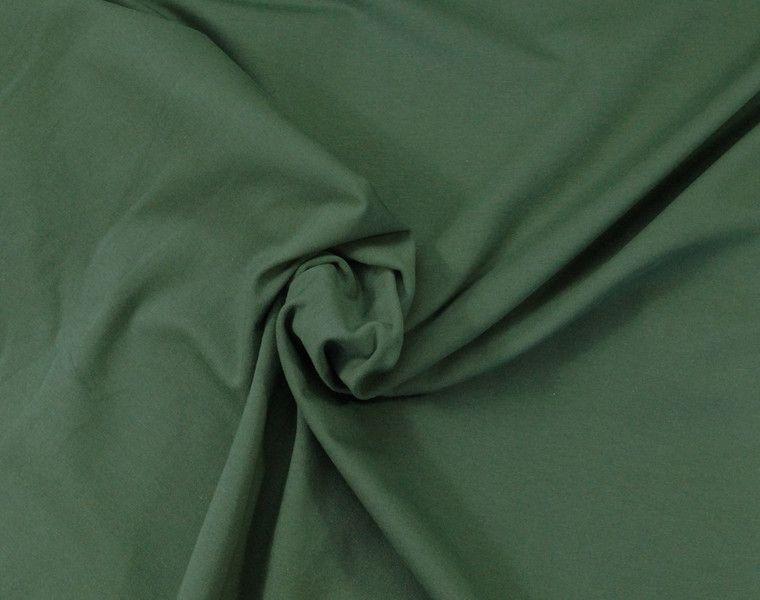 Jersey - 579 Baumwoll-Jersey Dunkelgrün - ein Designerstück von my-kati bei…
