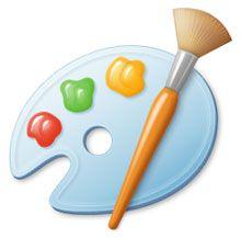 Microsoft Paint logo   Microsoft paint, Paint icon, Paint program