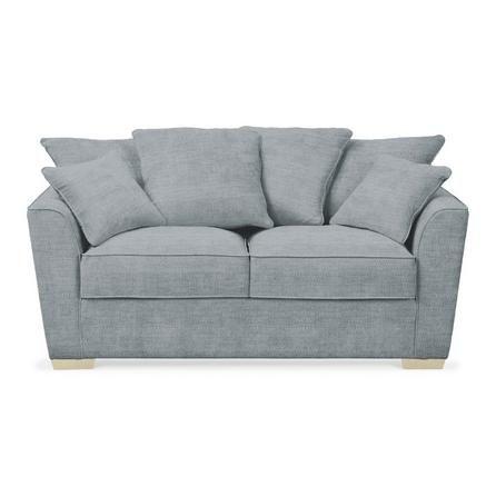 Dunelm Sturdy Light Blue Grosvenor 2 Seater Scatter Back Sofa Upholstered Sofa Seater Sofa Upholstered Chairs