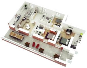 gambar rumah kamar 3