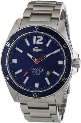 282b408cc4b Relógio Lacoste Seattle Blue dial Stainless Steel Mens Watch 2010636   Relógio  Lacoste