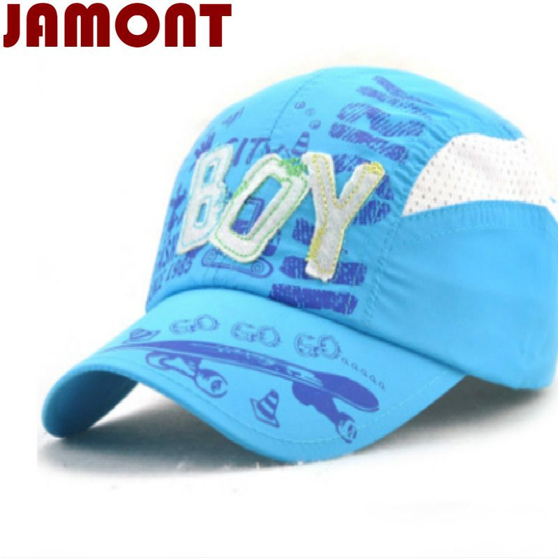e73ec898a1 Click to Buy << [JAMONT] quick drying letter breathable kids summer ...