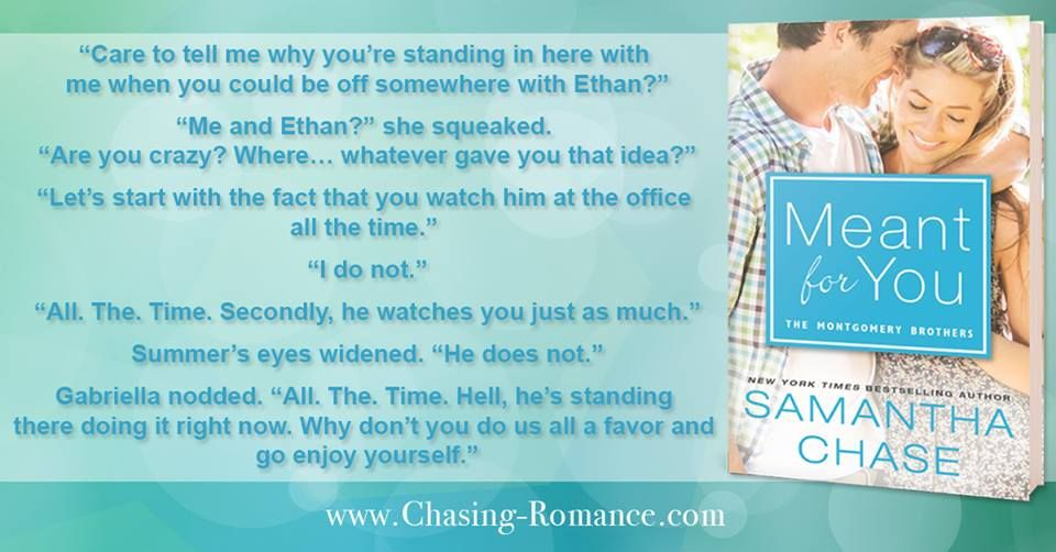 MONTGOMERY BROTHERS 5: MEANT FOR YOU BY SAMANTHA CHASE. AVAILABLE NOW!  http://ishacoleman7.booklikes.com/post/1252493/montgomery-brothers-5-meant-for-you-by-samantha-chase-available-now