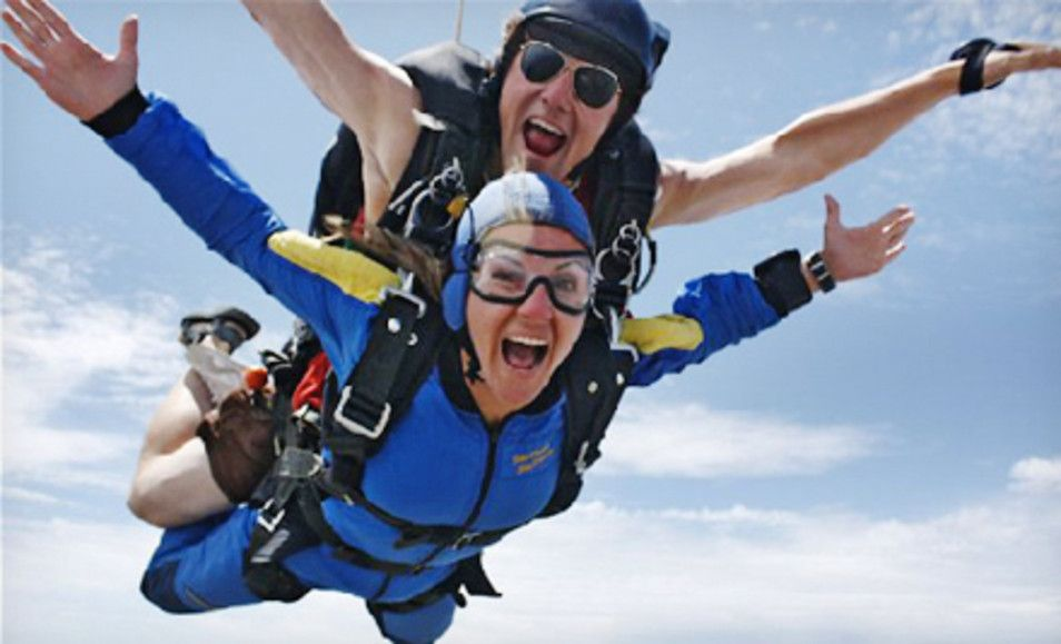 $99 for a 9,000-Foot Tandem Jump from Skydance Skydiving (Up to $159 Value) - Groupon