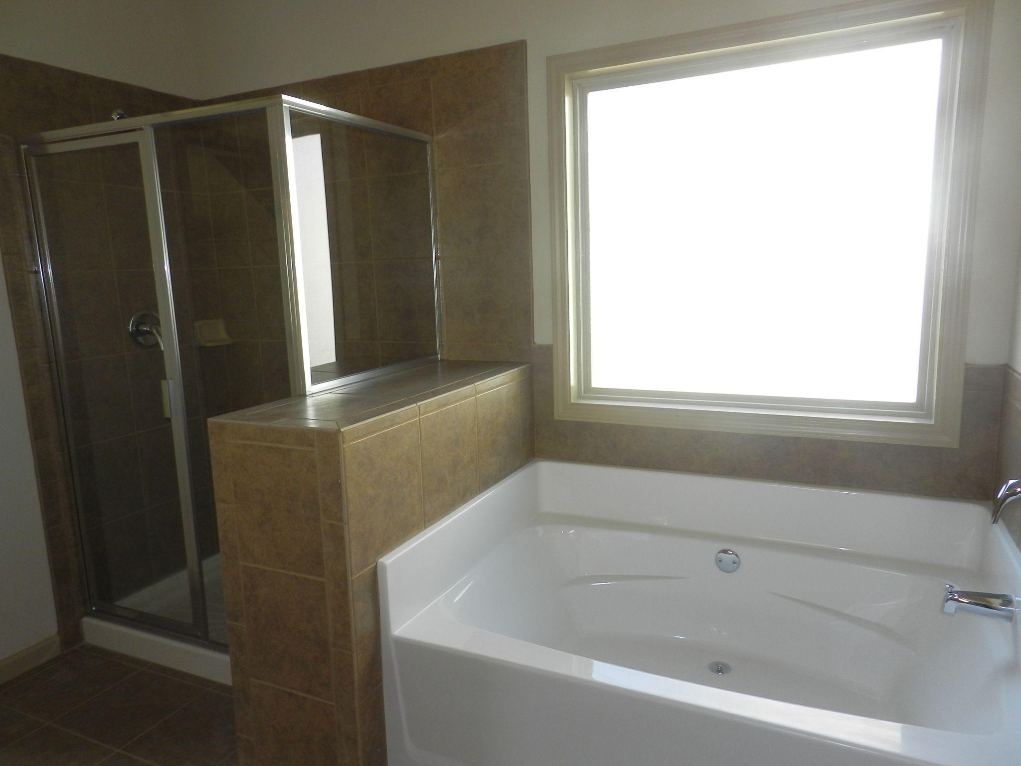 Garden tub and shower | DIY/Decor for the Casa | Pinterest | Garden ...