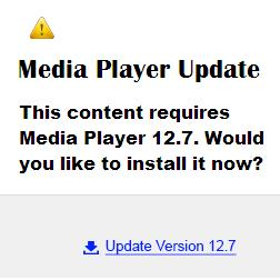 Fake and Malicious Media Player Update Advertisements: If you are browsing the internet and come across any advertisements asking you to update or upgrade your media player, please do not click on them. These are fake advertisements that will attempt to trick you into downloading malicious and Potentially Unwanted Programs....