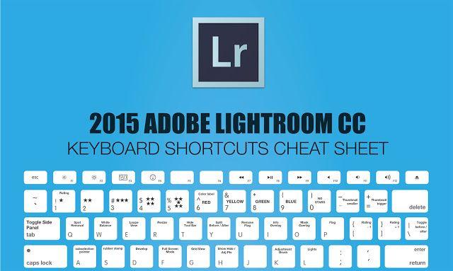 Lightroom shortcuts pdf