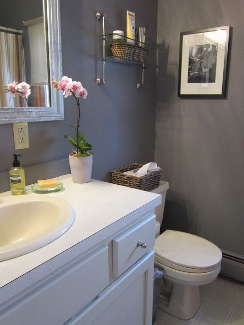 How to redo ugly apartment bathroom on a budget house - How to redo a bathroom on a budget ...