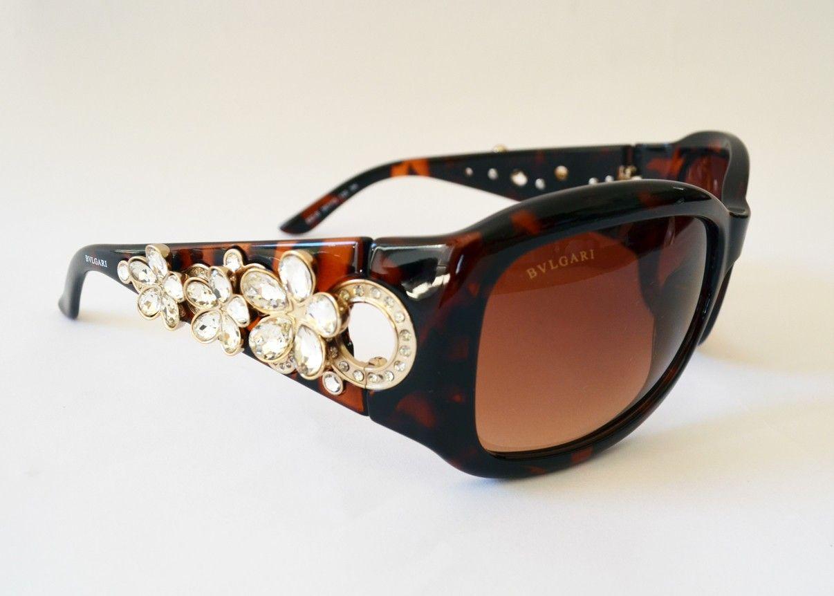 6195db5bf2c Bvlgari Sunglasses Swarovski