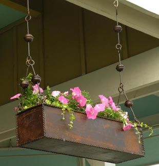 Hanging Planter For The Front Porch Or In Front Of The