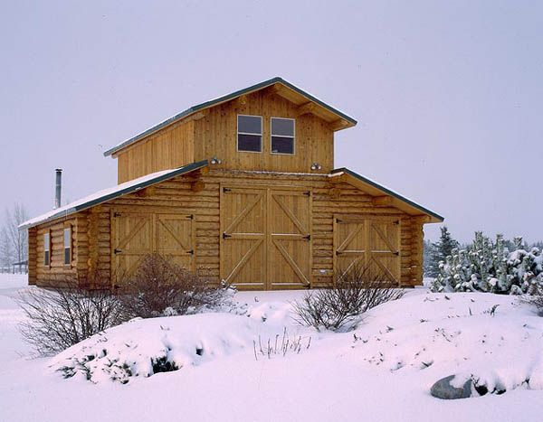 Montana Log Homes The Handcrafted Alternative Log Homes Pole Barn Homes Barn Plans