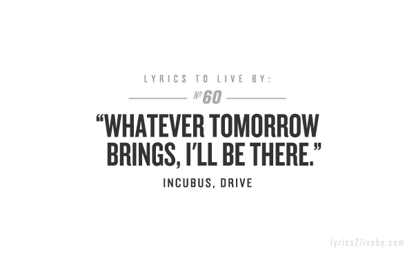Drive By Incubus Absolutely Used To Love This Song Saw Them In Concert Cant Remember What Year