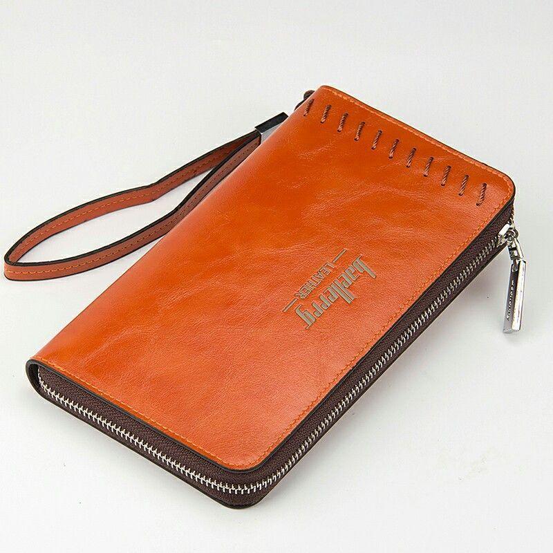 3b53c758 Wallet Man Hot Top Brand New Male Big Long Purse PU Leather Clutch ...