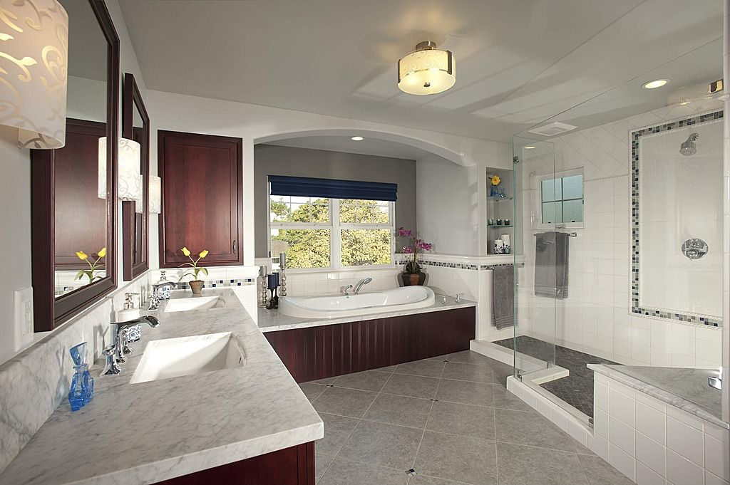 Craftsman Master Bathroom   Found On Zillow Digs