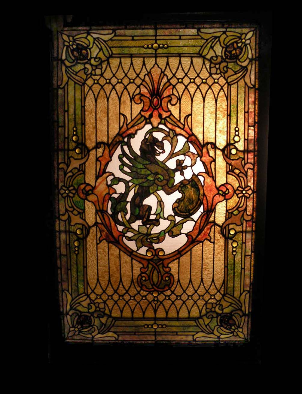 custom stained glass artists near me