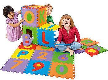 Imaginarium Alphabet Amp Numbers Foam Puzzle Mat 36 Piece