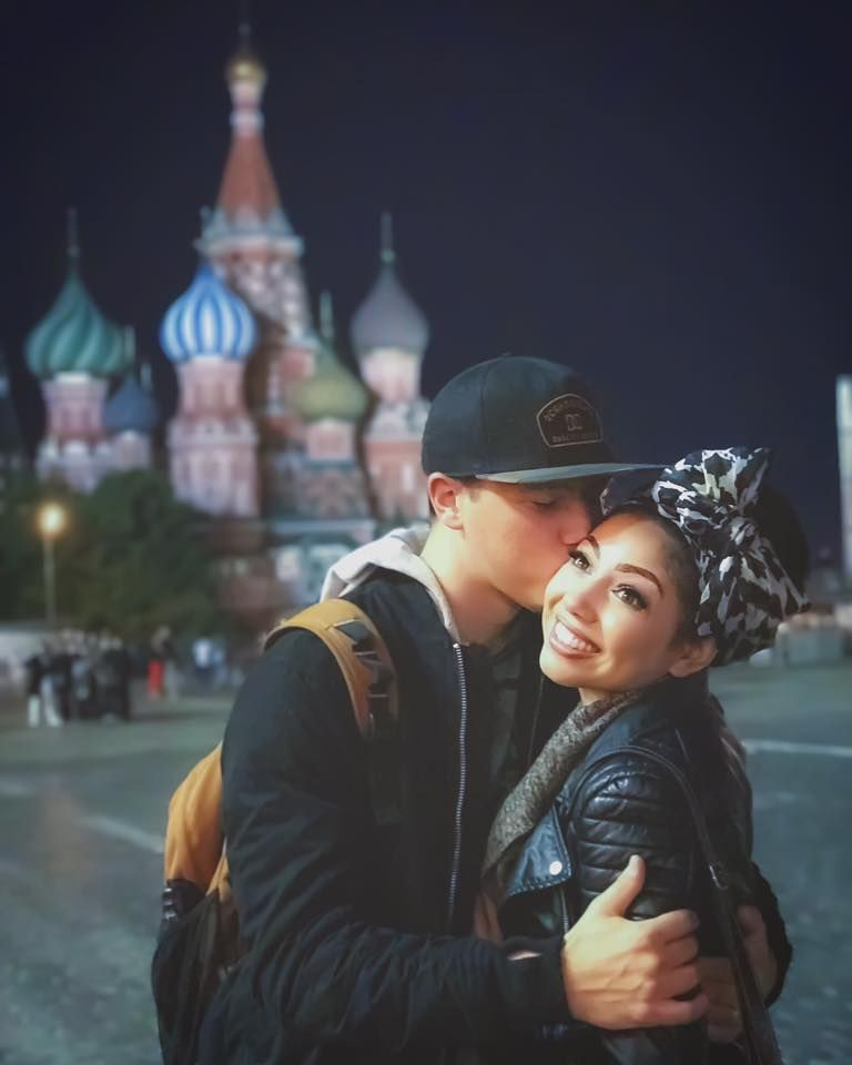 Charis & Jacob in Moscow, Russia