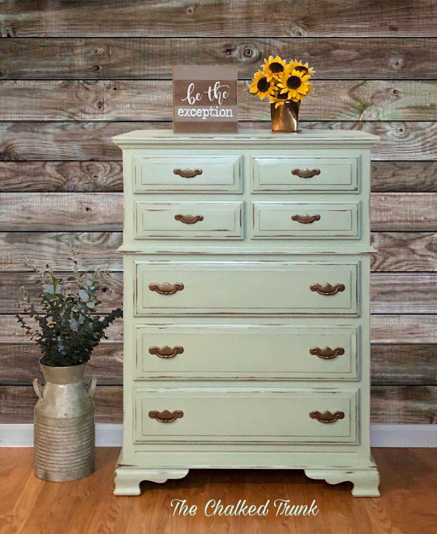 Pin Auf Green Painted Furniture