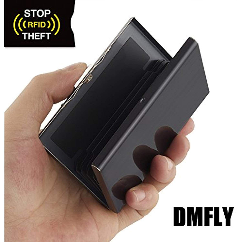 Credit card holder card metal wallet for holding credit