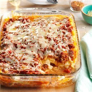 Four-Cheese Lasagna