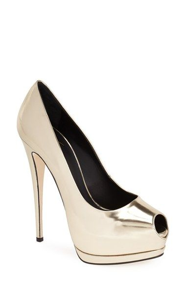 789fe6aa17e1 Love these shoes by GIUSEPPE ZANOTTI  Sharon  Platform Pump (Women) -  650