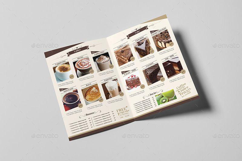 CoffeeShopMenuTemplate  Free Psd Mockups