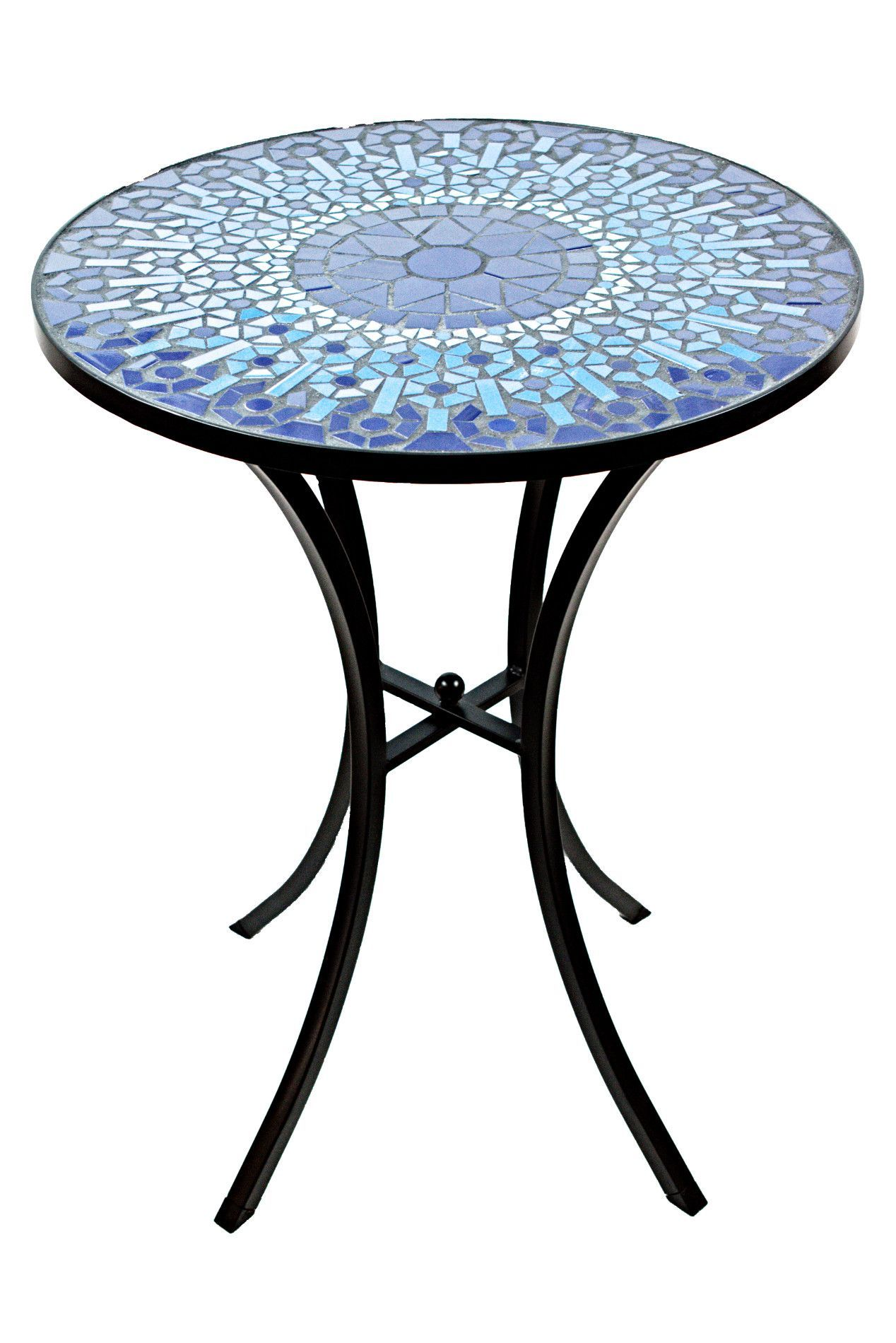 This Ceramic Tile Mosaic Accent Table Adds Elegance To Any Indoor Or  Outdoor Decor. The Intricate Tile Pattern Is Handcrafted For An Impeccable  Finish And ...