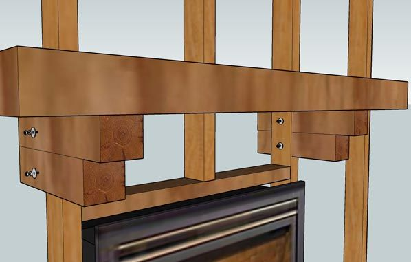 fireplace mantel installation tips how to in 2019 home rh pinterest com how to install a fireplace mantel surround how to install a fireplace mantel shelf on brick