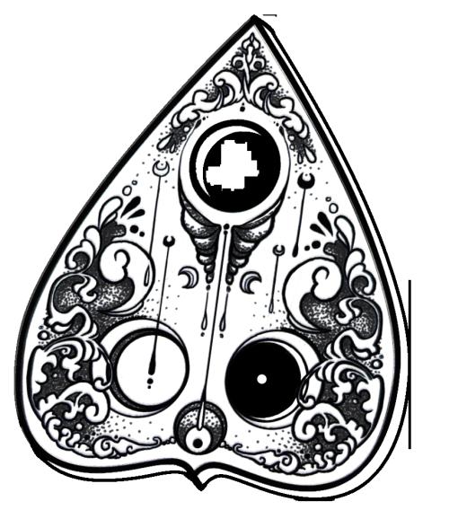 Ouija Planchette Tattoo Google Search Spooky Tattoos Halloween Tattoos Ouija Tattoo