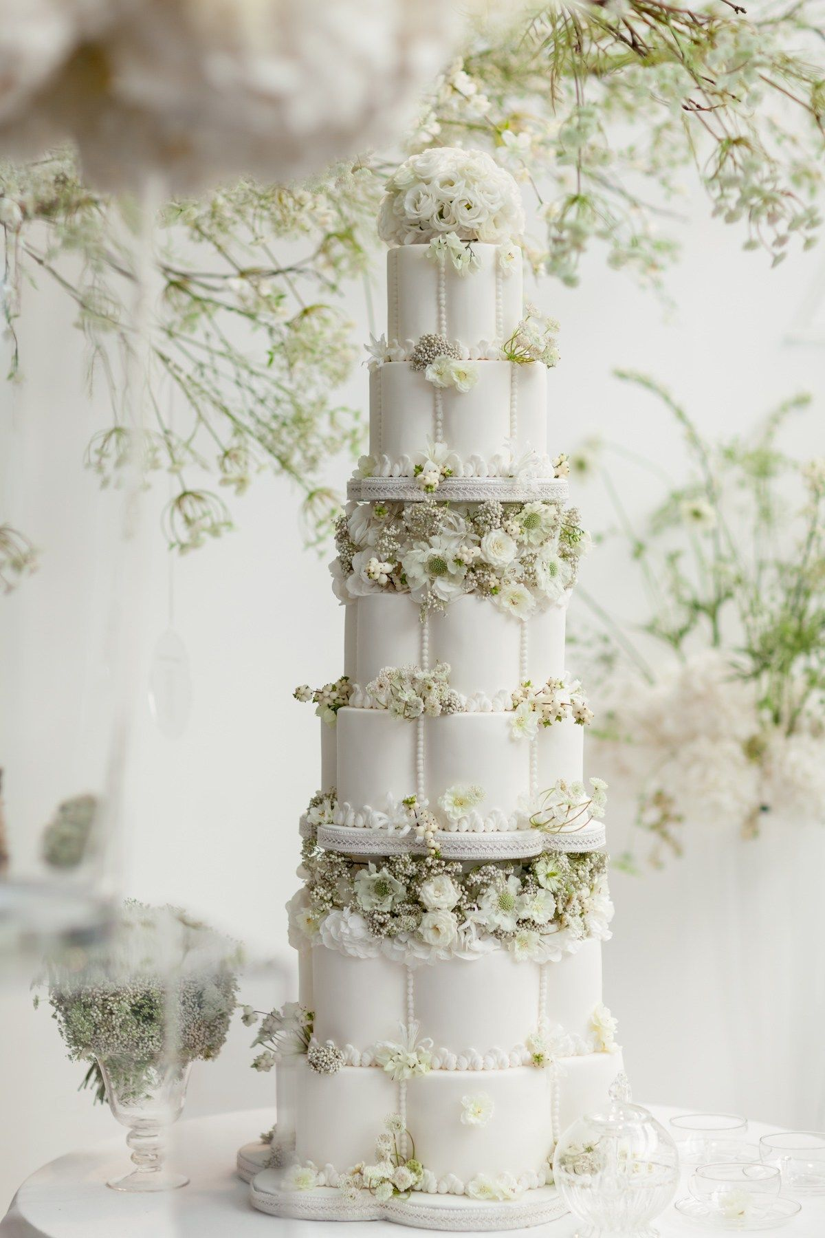An All White Floral Fairytale By Zita Elze