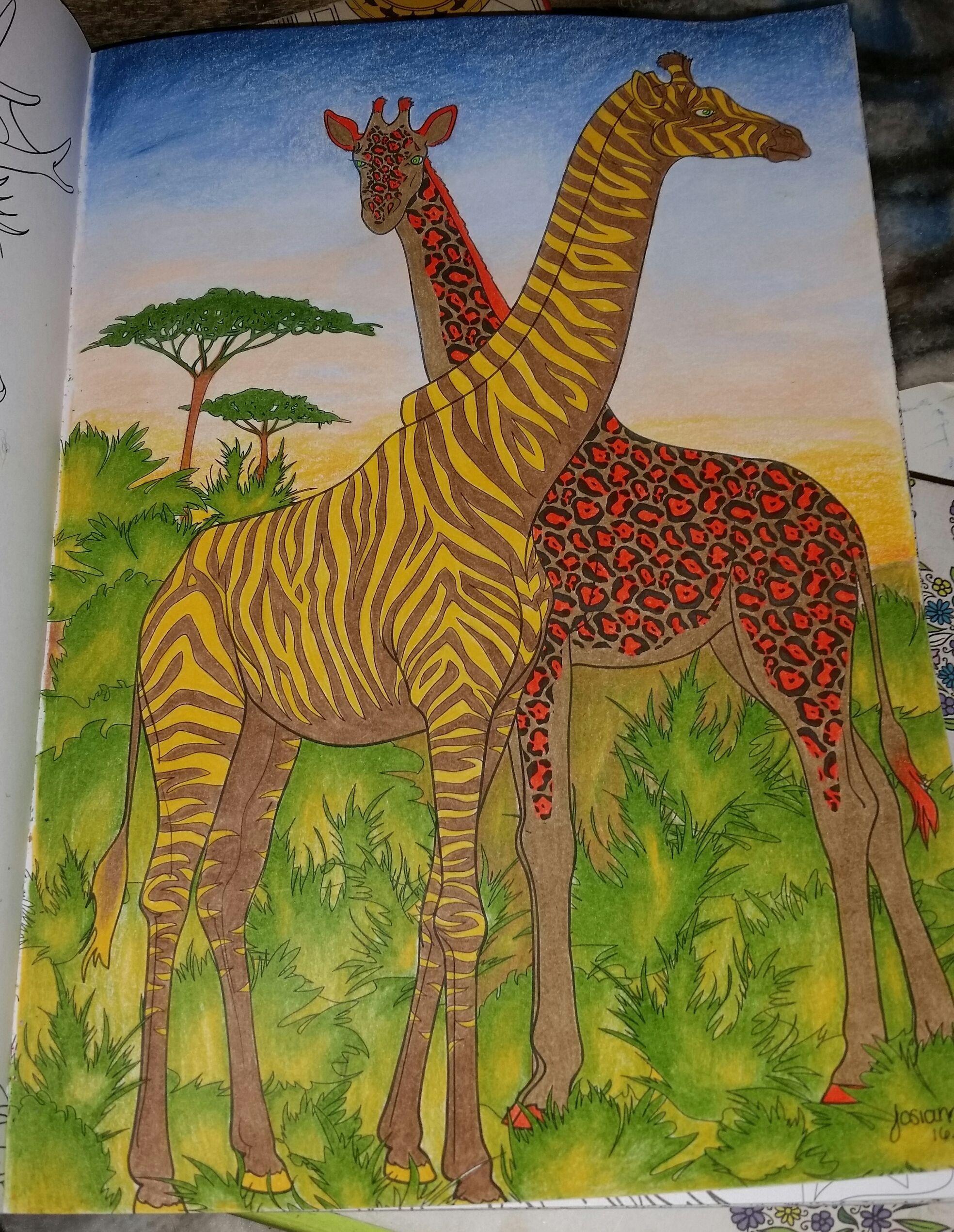 Du livre nouveau bestiaire extraordinaire 100 coloriages anti stress de hachette art th rapie - Coloriage art therapie ...
