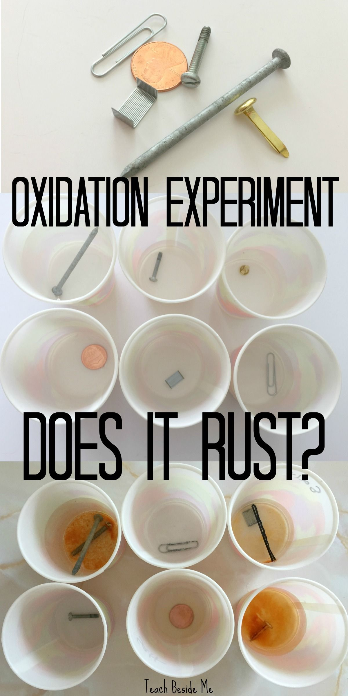 Oxidation Experiment Does It Rust