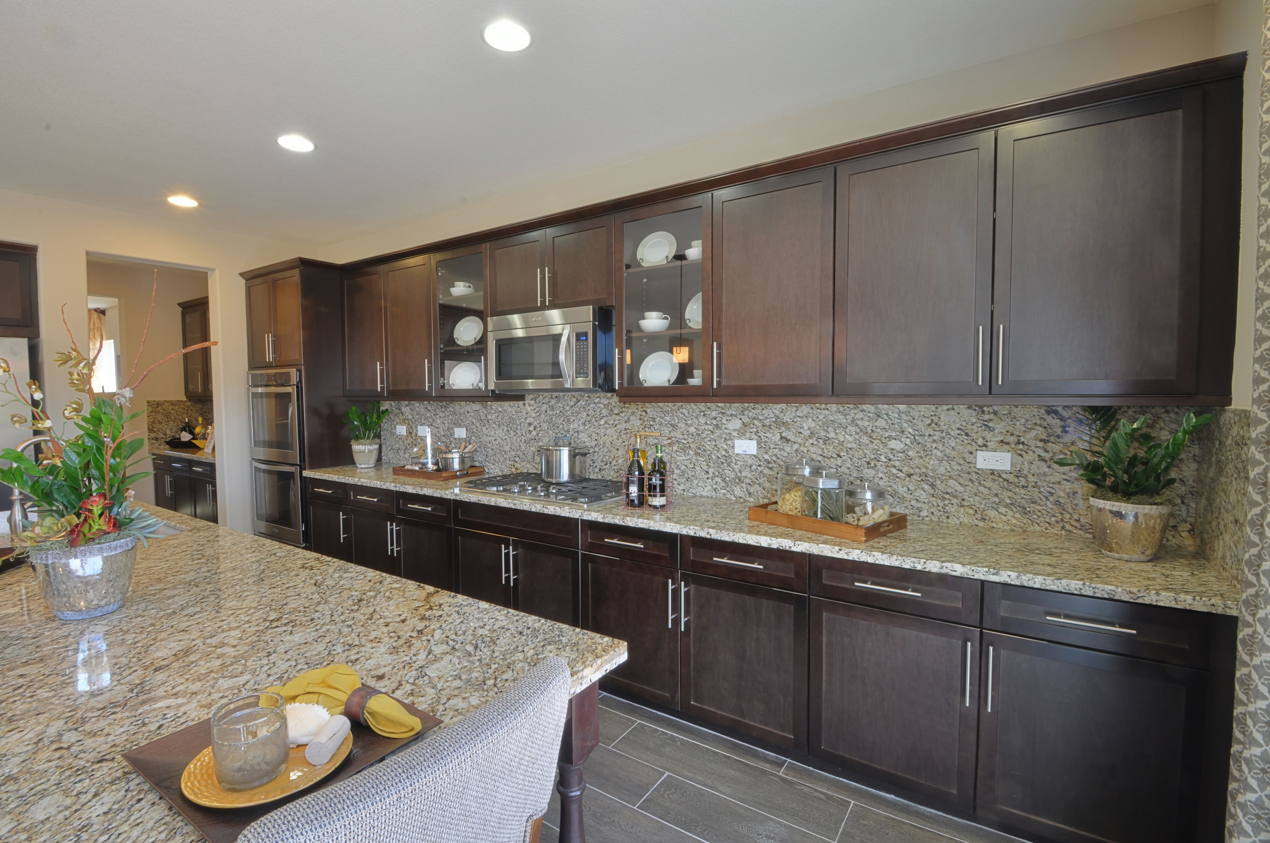 shaker maple with our java finish kitchen kitchen cabinets home decor on kitchen cabinets java id=99090
